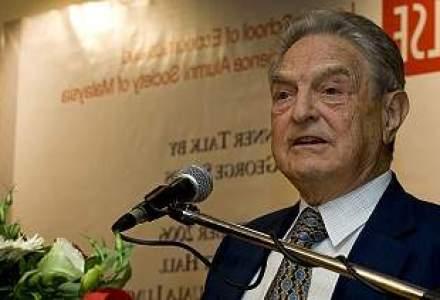 George Soros pariaza 1.3 mld. dolari pe caderea bursei americane