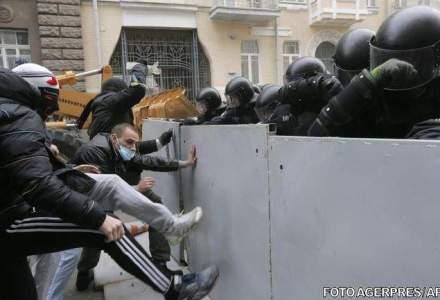 Kievul, in flacari: peste 20 de morti in urma unui nou val de violenta [LIVE-VIDEO]