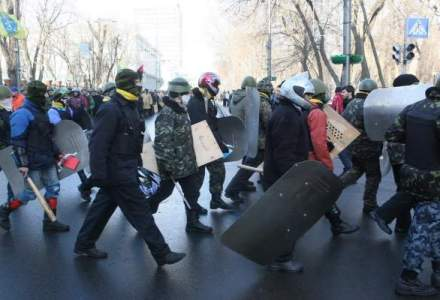 Sediul Guvernului ucrainean a fost evacuat
