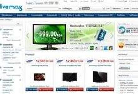 Tinta unui magazin online lansat cu 150.000 de euro: Una din primele 5 pozitii in comertul electronic