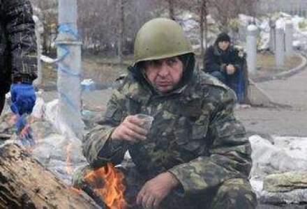 """REVOLUTIA DIN UCRAINA. Ianukovici, aproape de demisie. Politia este """"alaturi de popor"""""""