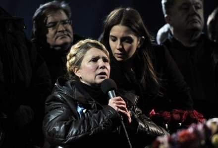 """Timosenko, in lacrimi, ii saluta pe """"eroii tarii"""": cine este """"doamna de fier"""" a Ucrainei"""