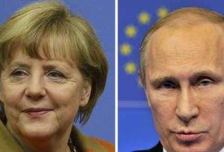 Criza din Ucraina: cum au reactionat Merkel si Putin