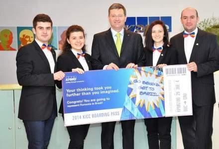 Patru studenti romani vor reprezenta Romania la o competitie internationala de antreprenoriat