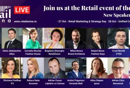 Noi speakeri confirmați la retailArena 2020 - Retailing in times of crises
