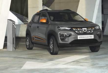 Primele poze și informații cu modelul de serie Dacia Spring Electric