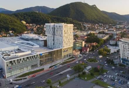 Mall-ul din centrul Brașovului se deschide pe 21 octombrie, după o investiție de 148 mil. euro