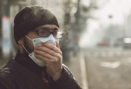 București: Valori record de poluare în noaptea de 24-25 octombrie