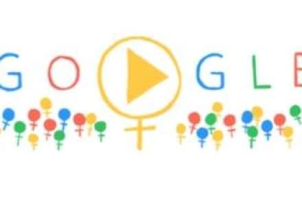 Ziua Internationala a Femeii, sarbatorita de Google printr-un logo special