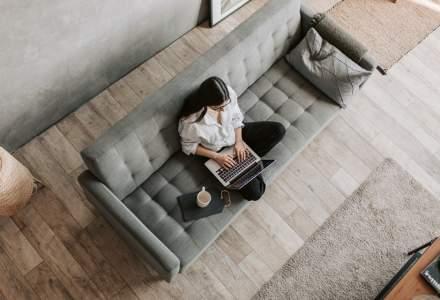 Studiu: Jumătate din angajații din București au dat birourile pe sufrageria de acasă și după starea de urgență