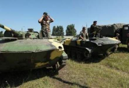 Romania si Ucraina isi vor anunta actiunile militare la frontiera