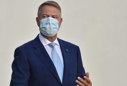 Klaus Iohannis: Am gestionat bine pandemia