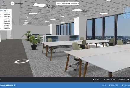 PREMIERĂ: platforma care îți permite vizualizarea interactivă a spațiilor de birouri