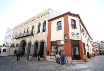 Hanul Gabroveni, reconstruit foarte aproape de original. Cand va fi gata viitorul institut cultural