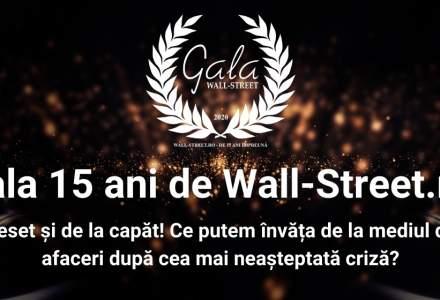 Gala 15 ani de Wall-Street.ro – Ce putem învăța de la cea mai neașteptată criză?