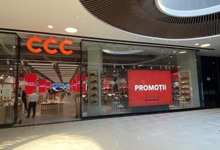 Brandul de încălțăminte CCC va deschide un magazin într-un mall din București