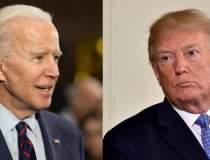 Cursă strânsă între Joe Biden...