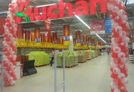Remodelarea real in Auchan, pe ultima suta de metri. Un nou magazin va fi redeschis in Targu Mures