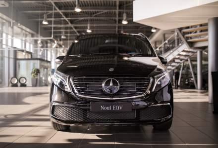 Mercedes-Benz a prezentat noul MPV electric - EQV