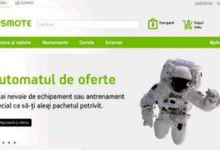 Cosmote relanseaza site-ul si incepe sa vanda online