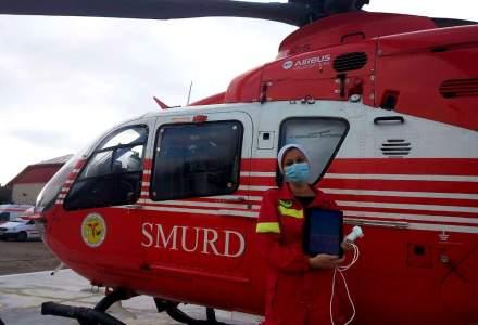 Philips donează un ecograf portabil Lumify pentru dotarea elicopterului SMURD din Cluj