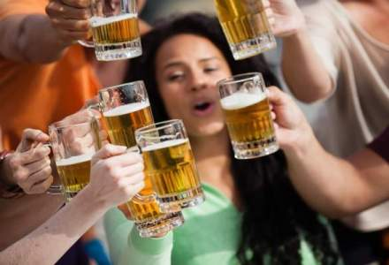 Piata berii, in declin: romanii au baut cu 10% mai putina bere anul trecut