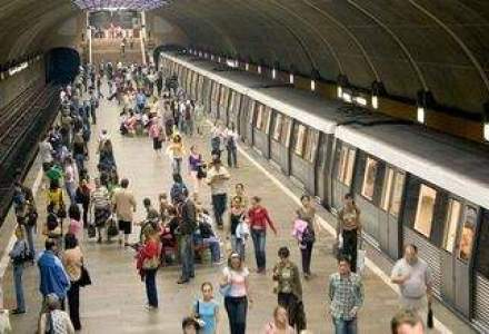 Circulatia la metrou, ingreunata dupa ce un tren s-a defectat