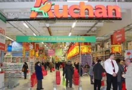 Auchan a ajuns la a 16-a remodelare: cate hipermarketuri Real mai are de rebranduit