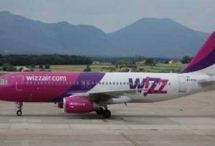 Wizz Air muta o aeronava din Ucraina in Romania si introduce rute noi