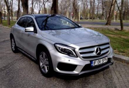 Test Drive Wall-Street: Mercedes-Benz GLA, un nou crossover premium