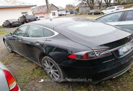 O Tesla furată din Norvegia a fost găsită în Suceava