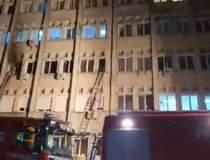 Pacienții răniți în incendiul...