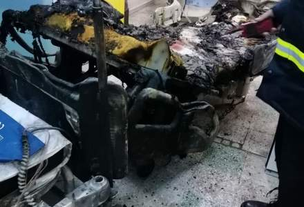 FOTO | Cât de puternic a fost incendiul din secția ATI a Spitalului Județean din Piatra-Neamț