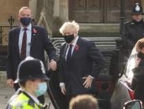 Boris Johnson, în izolare,...