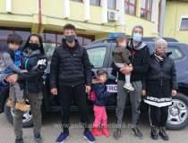 O călăuză, arestată în Caraș...