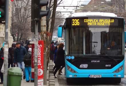 Primul autobuz al STB pe gaz se află în teste