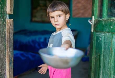 Statistici îngrijorătoare: 1 din 10 copii din mediul rural se duce flămând la culcare