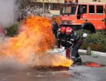 Incendiu in Constanta: trei...