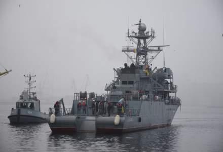"""Nava militară """"Locotenent Lupu Dinescu"""" încheie ultima misiune NATO din anul 2020"""