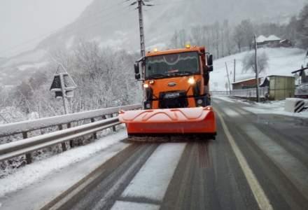 ATENȚIE! Trafic în condiții de iarnă