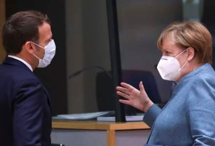 Emmanuel Macron și Angela Merkel cer marilor puteri să sprijine financiar vaccinarea împotriva COVID-19 din țările sărace