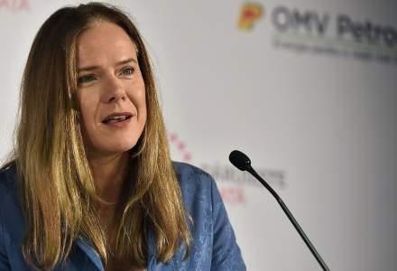 Christina Verchere (OMV Petrom): Prima fază a conductei BRUA a fost finalizată