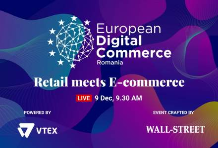 European Digital Commerce: Speakeri de top de la Vtex, Elefant.ro, Postis sau City Grill vin la eveniment
