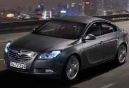 Bilant:120 de unitati Opel Insignia, vandute in Romania