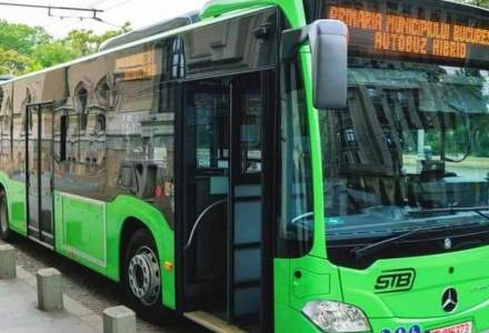 Ultima tranşă de autobuze Mercedes, recepţionată de Primăria Capitalei