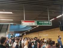 Tentativă de suicid la Metrou...