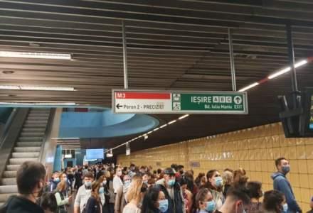 Tentativă de suicid la Metrou în stația Păcii