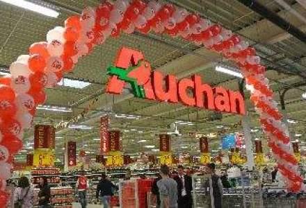 Auchan, afaceri de 1 mld. euro: In 2015 vrem o crestere de 30% a numarului de clienti