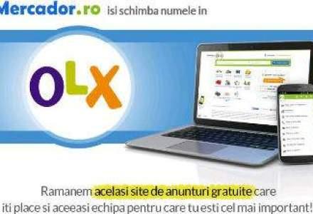 Cu ce rimeaza Olx? Cu pix, cu chix... De ce s-a rebranduit Mercador.ro
