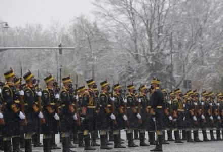 Repetiție restrânsă la Arcul de Triumf pentru parada de Ziua Națională a României
